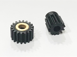 BSD Baja/Storm V2 and V3 Idler and Pinion Gear-New compound