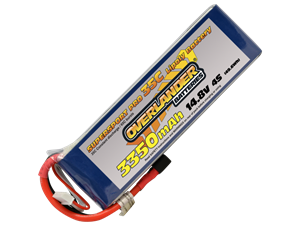 Overlander 3350mAh 14.8v 35c LiPo Battery - Supersport Pro