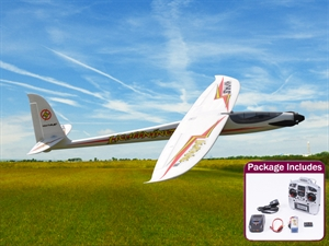 Max-Thrust Lightning 1500 Electric Glider. RTF