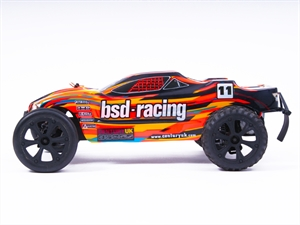 BSD Prime Storm V3 Painted Body - Black/Orange/Blue