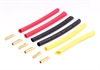 Century UK KDS Banana Plug 4.0mm x 3 Pairs With Heatshrink