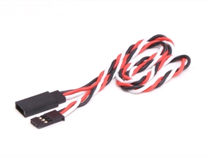 Century UK KDS Twisted Extension Lead 300mm (Futaba Style)